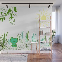 Pete the frog Wall Mural