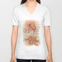 colorado V-neck T-shirts featuring COLORADO by TOXIC RETRO