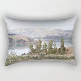 Barrys Bay New Zealand Rectangular Pillow