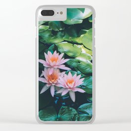 Beauty in the Shadow Clear iPhone Case