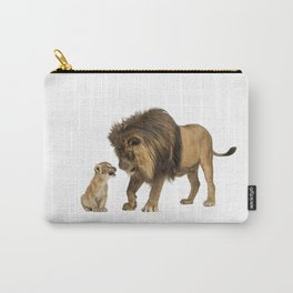 Dad and son Carry-All Pouch