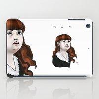 nan lawson iPad Cases featuring Nan by Dan Paul Roberts