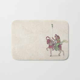 Indian Knight Bath Mat
