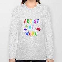 Artist at Work Long Sleeve T-shirt