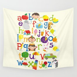 Wedgienet's Alphabet Wall Tapestry