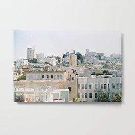 San Francisco rooftops Metal Print
