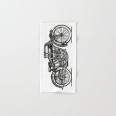 Motorcycle 2 Hand & Bath Towel
