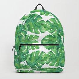 Tropical Palm Leaf 04 Backpack