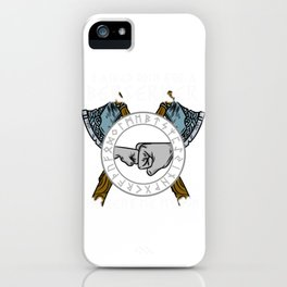 I asked Odin for a Berserker Viking Son T-Shirt iPhone Case
