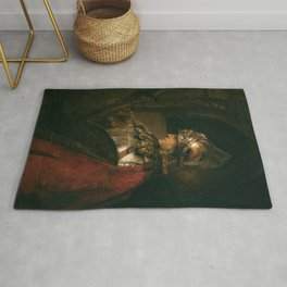 Rembrandt Harmenszoon van Rijn Alexander the Great (Man in Armour) 1658 Rug