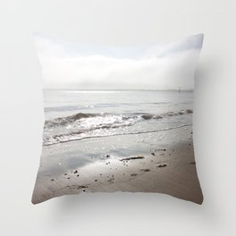Broughty Ferry beach 5 Throw Pillow