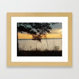 Lake Maury, Newport News, VA Framed Art Print