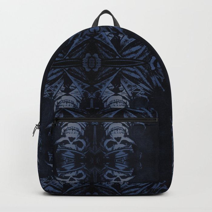 Death Driver Pattern (Large) Backpack