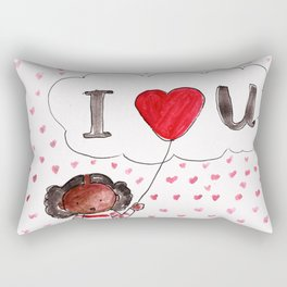 I Heart You Rectangular Pillow