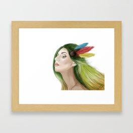MEMORIES WITHIN Framed Art Print
