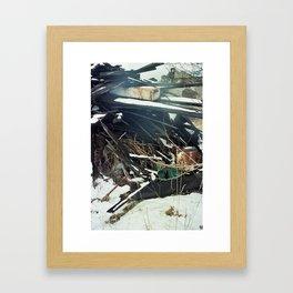 refuse (winter 14) Framed Art Print