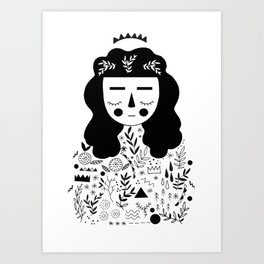 Symbols Art Print