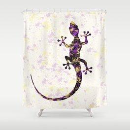 Abstract Lizard Shower Curtain
