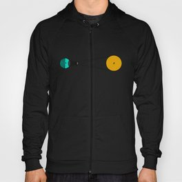Solar Eclipse Illustrated Hoody