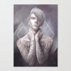 Dans la peau Canvas Print