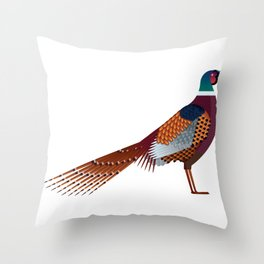 Pheasant Throw Pillow