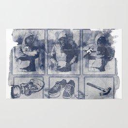 Vigilante Blueprint Rug