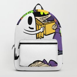 """Happy Halloween Shirt For October November Mummy Witch """"I Got A Rock"""" T-shirt Design Creepy Spooky Backpack"""