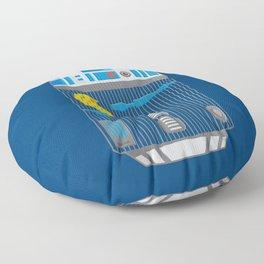 R2 Birdcage Floor Pillow