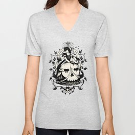 Mrs. Death Unisex V-Neck