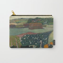 Paul Gauguin - Haystacks in Brittany Carry-All Pouch