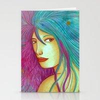 daria Stationery Cards featuring Daria [Artwork] by Mereide