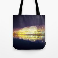 portland Tote Bags featuring Portland by dibec