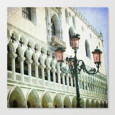 Lampione - Venice Canvas Print