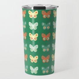 Pastel butteflies Travel Mug