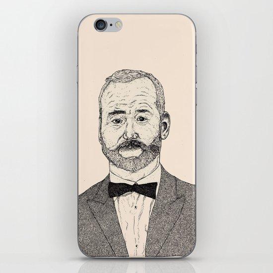 Bill Murray Portrait iPhone & iPod Skin