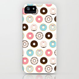 Super Sweet Donuts iPhone Case
