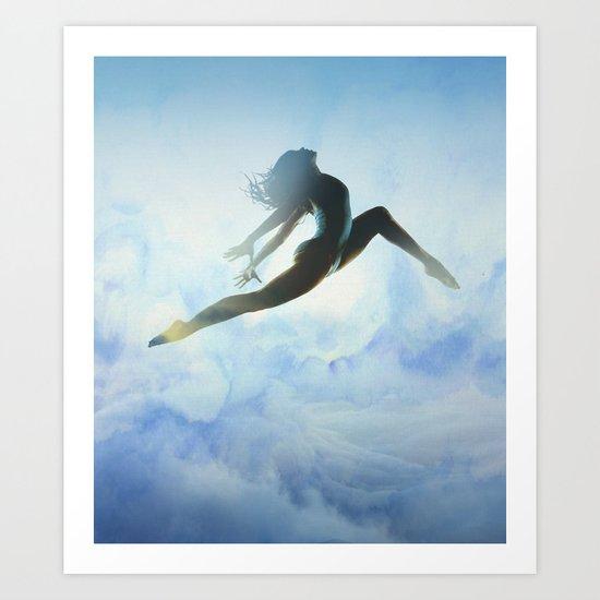 Dancer's Leap Art Print