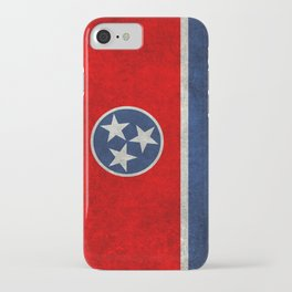 Tennessee State flag, Vintage version iPhone Case