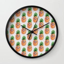 Pinneaple eye Wall Clock
