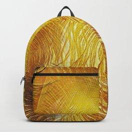 Golden Gathering Backpack