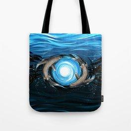 Shark Mandala Tote Bag