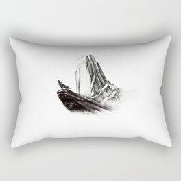 The wolf king Rectangular Pillow