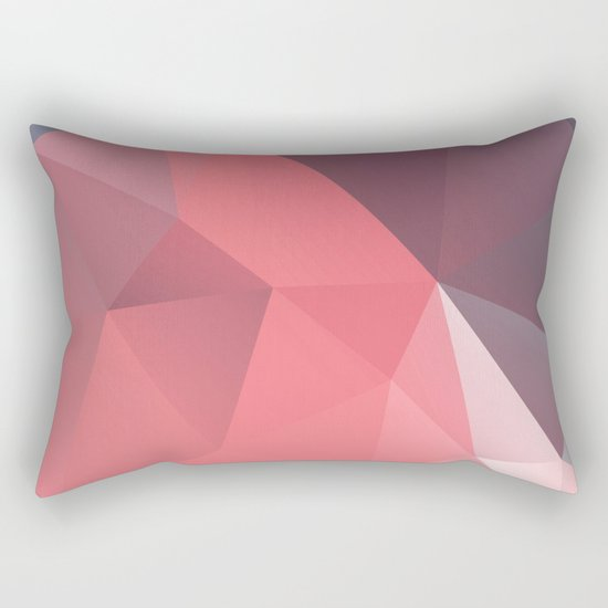 Geometric XXI Rectangular Pillow