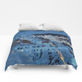 Santorini Nights Comforters