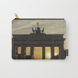 Sunset at the Brandenburg Gate, Berlin Carry-All Pouch