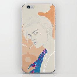 I Defy You Stars iPhone Skin