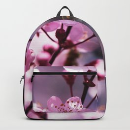Fresh cherries in the pink blossom dream Backpack