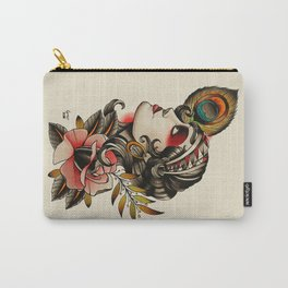 Gipsy girl - tattoo Carry-All Pouch