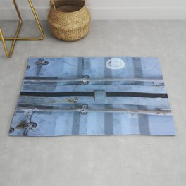 Shipping Container Doors Rug