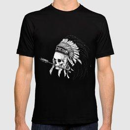 Indian skull T-shirt